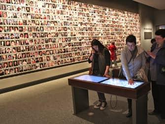 9/11 Museum in New York - Memorial Wall