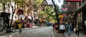 Cafes and Bistros in The Village in New York 300x225