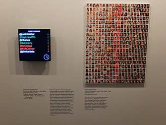 The International Center of Photography in New York - Public Private Secret -exhibit