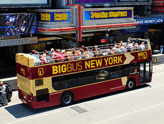 Big Bus in New York - The Bus