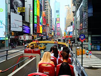 Big Bus in New York - Top Deck