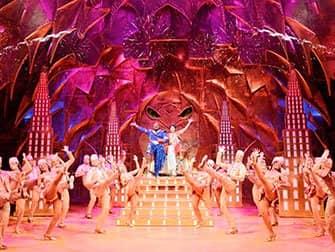 Aladdin on Broadway Tickets - Genie and Aladdin