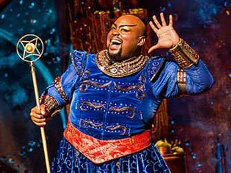 Aladdin on Broadway Tickets - Genie