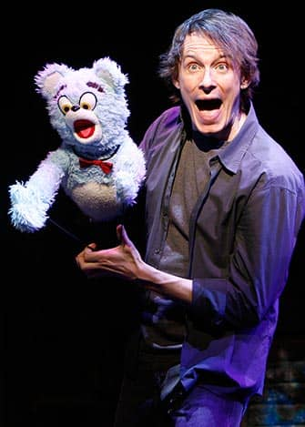Avenue Q in New York - Puppeteer