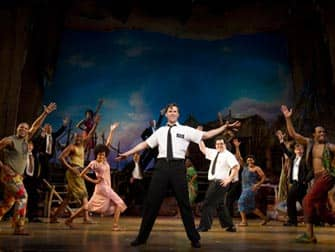 Book of Mormon in NYC - Cast of the Musical