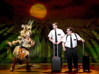 Book of Mormon on Broadway in New York