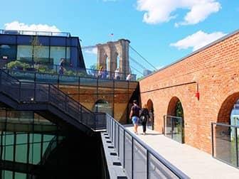 Brooklyn Bridge Park in New York - Empire Stores Roof