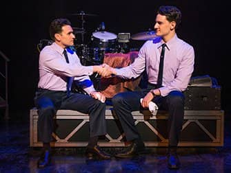 Jersey Boys in New York Tickets - Handshake