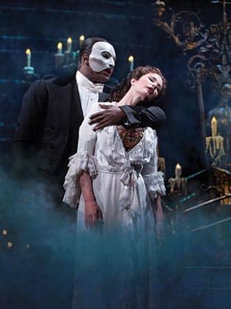 Phantom of the Opera in NYC - The Phantom and Christine