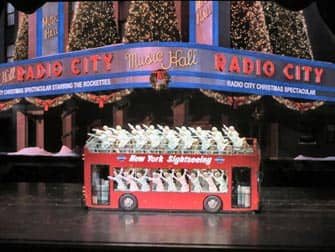 Radio City Christmas Spectacular in NYC - Bus