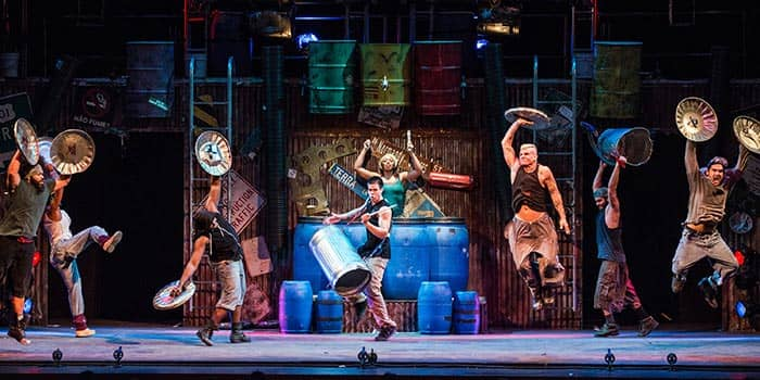 Stomp in New York - Off-Broadway Show