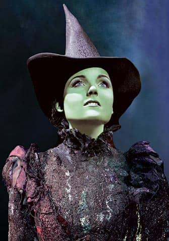 Wicked on Broadway New York - Elphaba