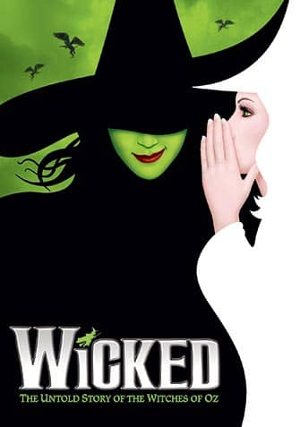 Wicked on Broadway New York - Poster