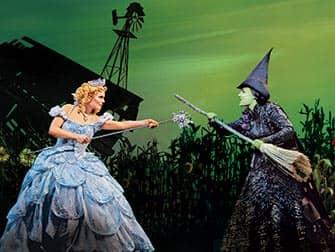 Wicked on Broadway New York - cast