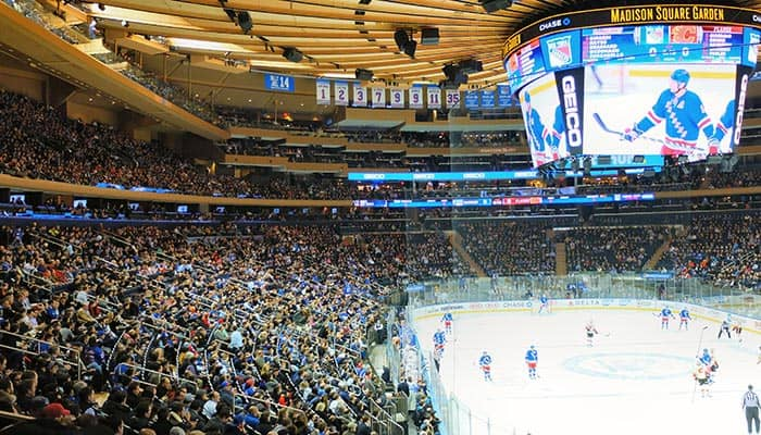 New York Rangers - Game at Madison Square Garden