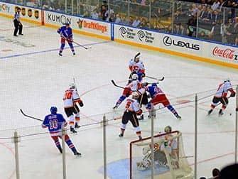 New York Rangers - Rangers versus Calgary Flames