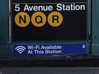 Wi-Fi in New York - Wi-Fi at 5th Avenue Station