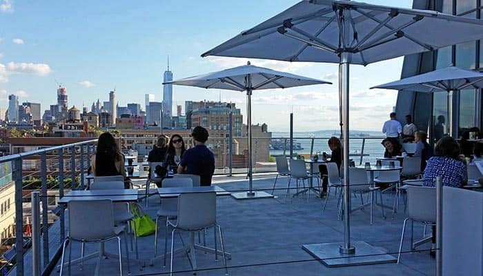 The Whitney Museum in New York - View