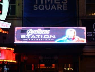 Discovery Times Square - Avengers