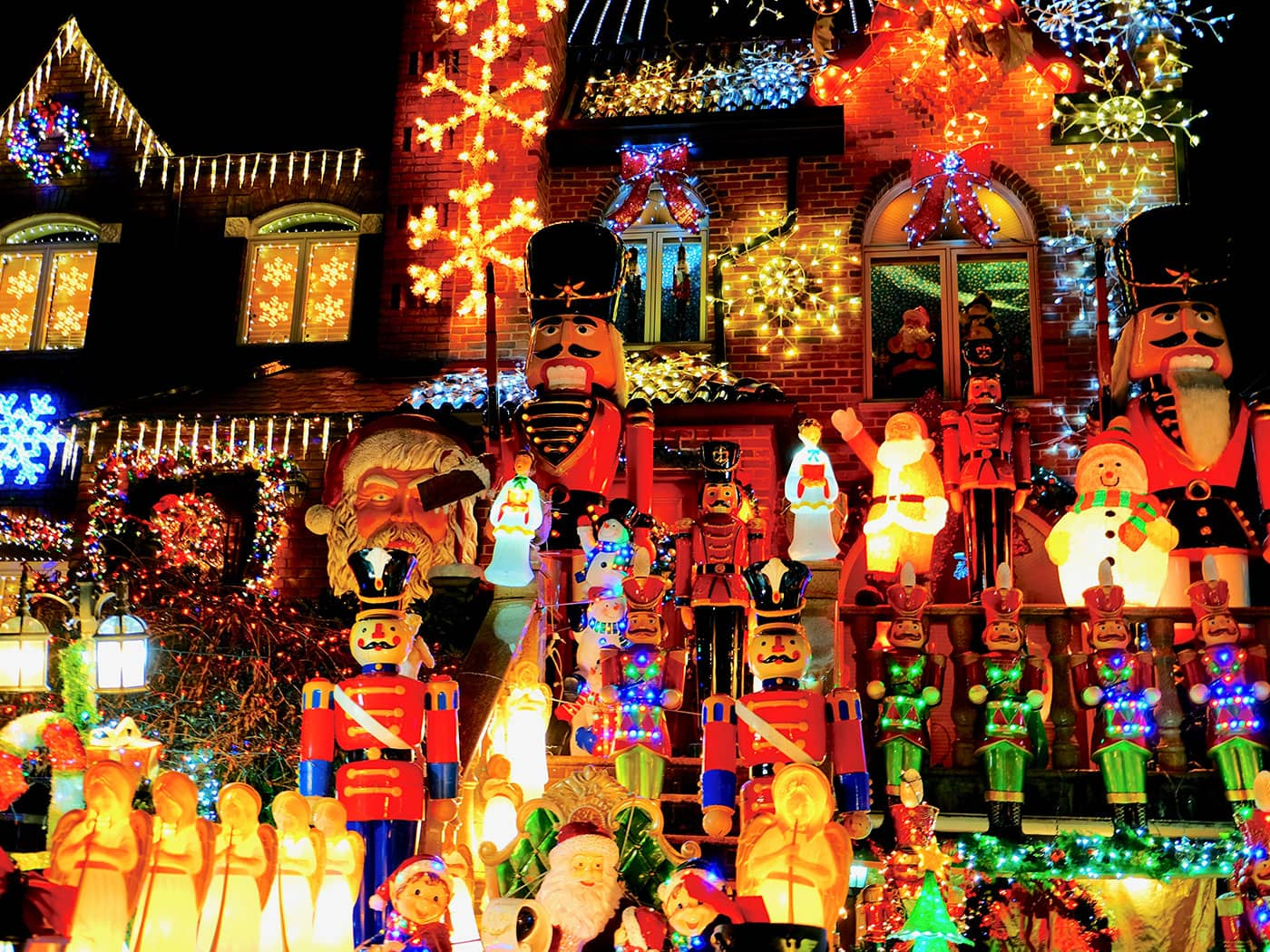 Dyker Heights Christmas Lights - Figures