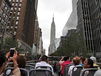 CitySights Hop-on Hop-off Bus in New York - Empire State
