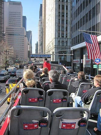 Gray Line Hop-On Hop-Off bus in New York - Guide