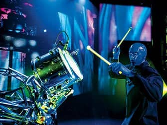 Blue Man Group Tickets in New York - Drums