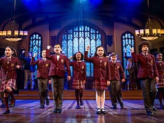 School of Rock on Broadway - Childrens ensemble