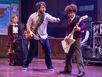 School of Rock on Broadway - Rock and roll class