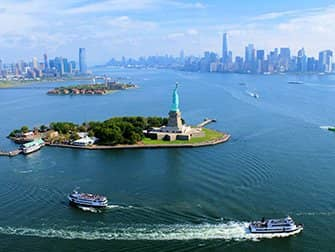 No Door Helicopter Tour in New York - Statue of Liberty