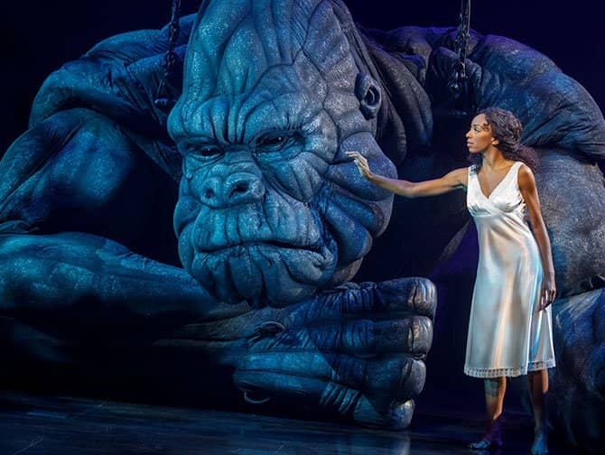 King Kong the Musical on Broadway Tickets - King Kong and Ann