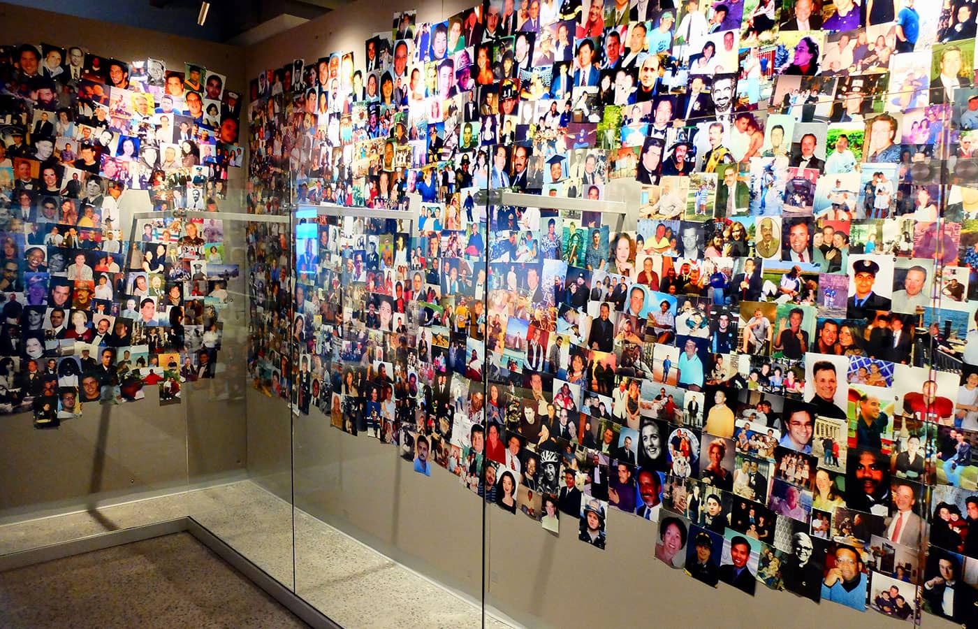 9/11 Tribute Museum in New York - Photo Wall
