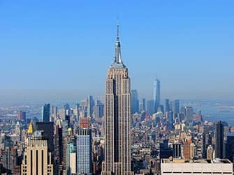 Difference between New York Sightseeing Flex Pass and New York Explorer Pass - Empire State Building