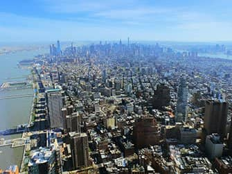 Difference between New York Sightseeing Flex Pass and New York Explorer Pass - One World Observatory View