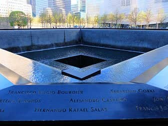 Difference between New York Sightseeing Day Pass and New York Pass - 9/11 Memorial