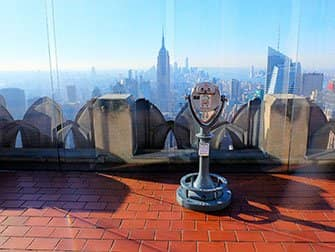 Difference between New York Sightseeing Day Pass and New York Pass - Top of the Rock