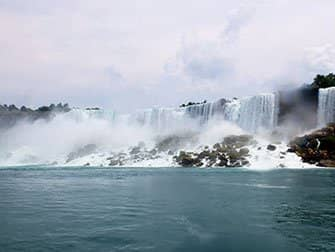 New York to Niagara Falls by Bus Day Trip - View from Maid of the Mist