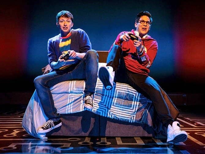 Be More Chill on Broadway Tickets - Jeremy and Michael