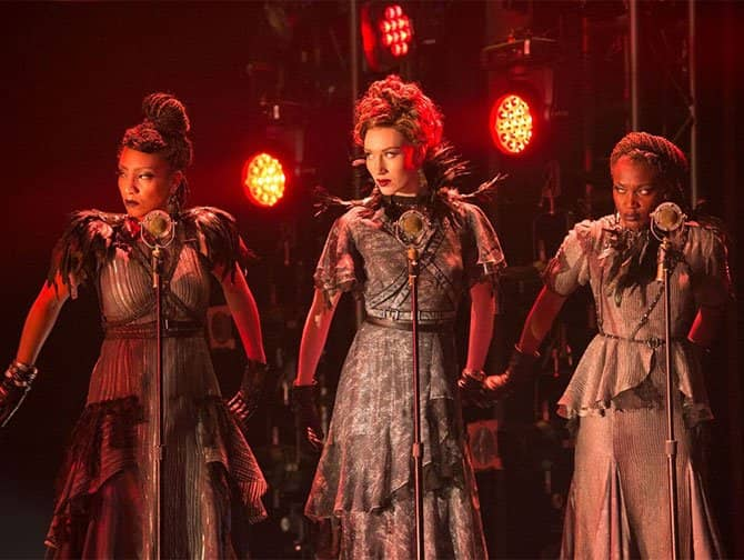 Hadestown on Broadway Tickets - Three Fates