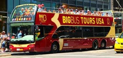 Hop on Hop Off Bus Tour